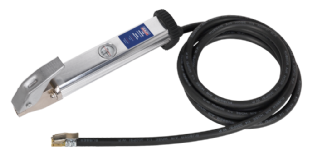Sealey SA396 Tyre Inflator with 2.75mtr Hose & Clip-On Connector